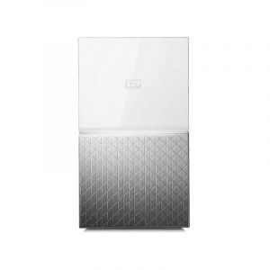Disque dur externe - WD - My Cloud Home Duo - WDBMUT0120JWT-EESN - 12To (2x 6To) - Blanc