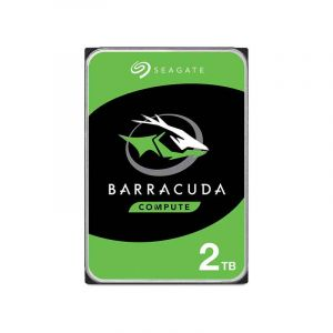 Disque dur interne - SEAGATE - BarraCuda - 2 To - 3.5 - 1 mois - Principale