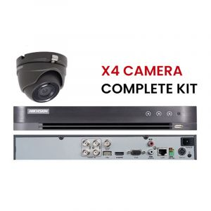 HIKVISION ANALOGUE KIT complet  4 CAMERA DÔME