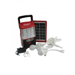 Systeme D'eclairage Solaire - Euronet - Home kit Euro103 - Rouge - 2 Mois