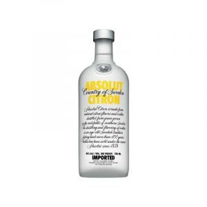 VODKA - ABSOLUT - Citron - 750 ML - 40% Alcool