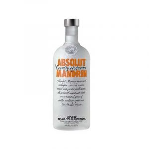VODKA - ABSOLUT - Mandrin - 750 ML - 40% Alcool