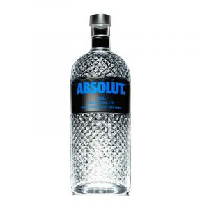 VODKA - ABSOLUT - Night Bottle - 1.75 Litre - 40% Alcool