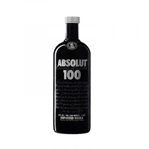 VODKA - ABSOLUT - VODKA 100 - 1 Litre - 50% Alcool