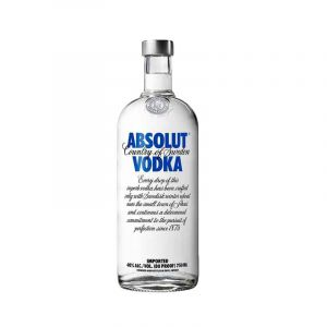 VODKA - ABSOLUT - VODKA - 750 ML - 40% Alcool