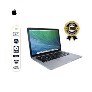 Apple Mac Book Pro (15.4 pouce ,Intel Core i7 à 2,6 GHz , 256 Go, 16 Go) -Argent | Glotelho cameroun