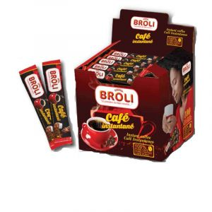 Cafe -  Broli - Packet de 100 Sachet 2g