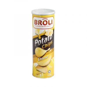 Potato Chip's Broli - Chips de pomme - Cheese - Fromage - 160g | Glotelho