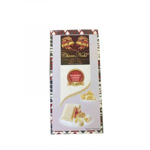 Chocolat Blanc (Pure Beurre De Cacao)-120g-made in cameroon.