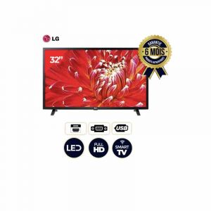 Smart TV LG - 32LM630 - 32 Pouces - HDR Dynamic Color - HDMI - USB - Wifi - Bluetooth - 6 mois|GlotelhoCameroun