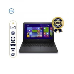 "DELL inspiron 15-5000 – Laptop – 15.6"" - Intel Core i7  - 1Tera – 8Go Ram - Windows 10 - Noir 
