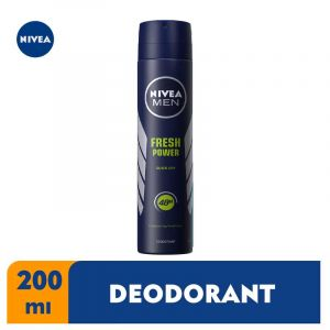 Deodorant Spray Fresh Power Nivea 200ml Glotelho