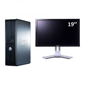 "Desktop Refurbished  - Dell Optiplex 780 - Dual core - 2Go RAM- 160Go - ecran 19"" - 03 mois"