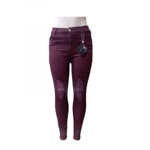 Pantalon Jean - Bordeaux