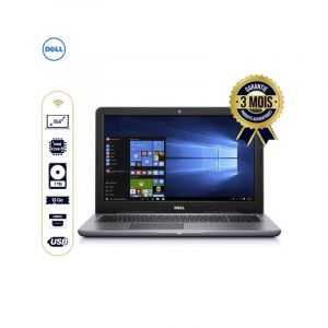 "Laptop - Dell Inspiron 15 5000 - 15.6"" - Intel Core i7 - 1Tera/12Go RAM - Windows 10 Home - 03 mois 
