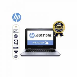 "Laptop Refurbished - HP x360 310 G2 - Ecran Tactile - 11.6"" - Intel Celeron N3050 - 4GB RAM - 128 GB SSD -  3Mois 