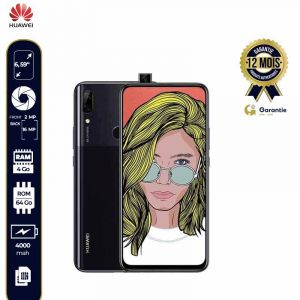 SMARTPHONE HUAWEI P SMART Z - 64/4Go RAM-16MP+2MP/MOTORIZED POP-UP CAMERA 16MP  |
