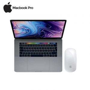 Macbook Pro -MV972FN/A - (2019) - touch bar - 13'' + Apple - Magic Mouse 2 - Sans fil - Rechargeable - Blanche