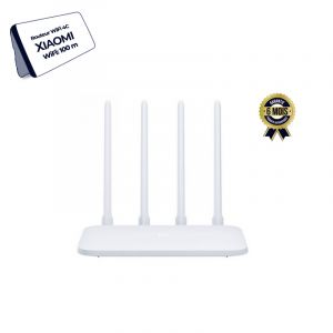 Routeur Wifi - Xiaomi Mi Router 4C - Double bande - 4 Antennes 5dB - 802.11b/n - Vitesse de transfert 300Mbps - Application compatible Android et iOS - 6 mois | Glotelho Cameroun