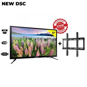 LED TV NEW DSC 32 Pouces + Support Murale Glotelho