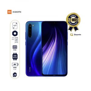 "Xiaomi Redmi Note 8 - Smartphone - 64Go/6Go RAM - 48MP - 4000mAh - 6,3"" - 4G - Dual Sim - Bleu (version chinoise -playstore préinstallé-english and chinese language only) 