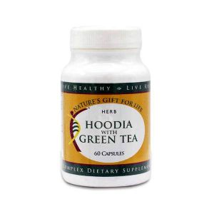 NG4L HOODIA 600 WITH GREEN TEA - 60 CAPSULES|Glotelho Cameroun