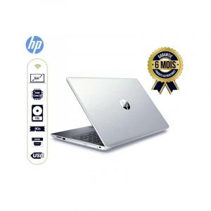 "Laptop - Hp 15-da0016cy - Ecran Tactile - 15.6""- core i5- 1To8Go RAM - Blanc"