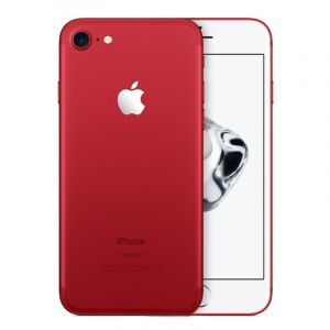 Smartphone iPhone 7 - Reconditionné - 128 Go ROM/ 2Go RAM - 4.7'' - 12MP/7MP - En Noir/Argent/Or/Rouge