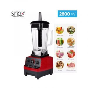 Blender SINBO MULTI FUNCTION HSB-3088 - 400MM  - Rouge | Glotelho Cameroun