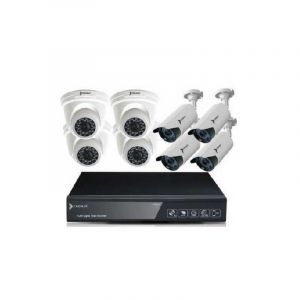 kit de 8 Cameras - Premax -PM-DVRKIT2080 - 1MP - 6 Mois