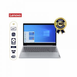 Laptop - Lenovo IdeaPad 3 - Intel i5-1035G1 Quad Core - 12GB RAM /256GB SSD - 15.6 pouces tactile|Glotelho Cameroun
