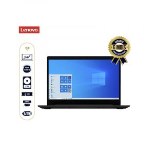 """Lenovo IdeaPad 3 - 15IIL05 81WE - 15.6"""" - Core i3 1005G1 / 1.2 GHz - 1To / 4Go RAM - Win 10 Home in S mode - 6 Mois"""