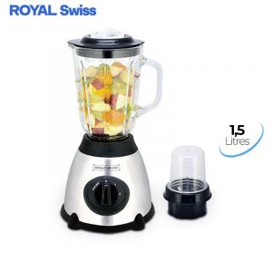 Mixeur Blender - ROYAL Swiss - 1000W -  1.5L | Glotelho Cameroun
