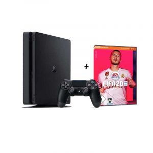 Pack  Playstation 4 - 1To / 8Go RAM + FIFA 2020