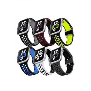 Pack de 6 bracelets de rechange pour Apple Watch - Series SE 6 à 1 - (42mm / 44 mm ) | Glotelho Cameroun