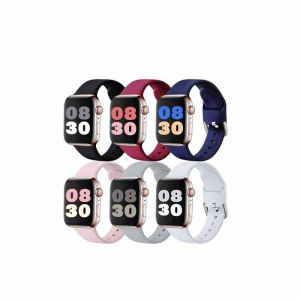 Pack de 6 bracelets de rechange pour Apple Watch - Series SE 6 à 1 - (42mm à 44 mm ) | Glotelho Cameroun