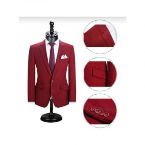Costume Pour Homme Rouge