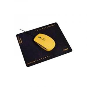 Port Designs Wired Mouse - Neon Orange et vert + Mouse Pad