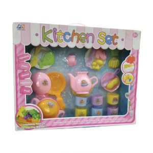 KITCHEN (luxurious mini kitchen set) - cuisine moderne démontable pour enfants