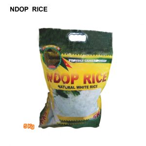 NDOP RICE- Natural and Delicious White Rice-5Kg