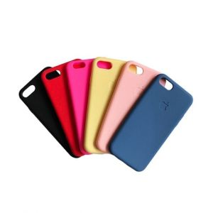 Silicone Iphone 5SE - Bleu - Rouge - Noir