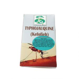 Typhojauquine - Terraser le paludisme, tyhphoide, jaunisse - 200ml