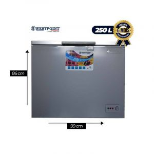 Congelateur West point WBN-3018.E-250L|Glotelho