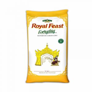 Riz Royal Feast Everyday Parfumé Long grain - 25kg|Glotelho