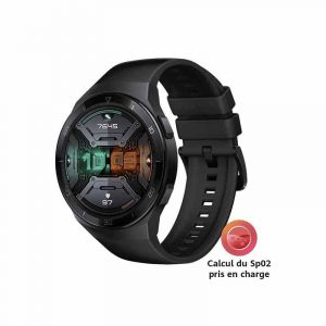Smart Watch Huawei Watch GT2E - Hector-B19R - 1,2 pouces - Amoled 390 x 390 HD - iOS, Fonction Android - 46,8 mm | Glotelho Cameroun