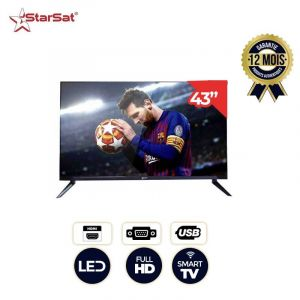 Smart TV - StarSat S32LED - 32 Pouces | Glotelho Cameroun