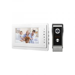 Système d'Interphone Vidéo Pour Villa - Video Doorphone For Villa -1 Poste - 6 Mois