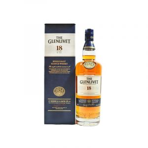 The Glenlivet 18 Ans - Scotch Whisky - 43 % - 70 Cl
