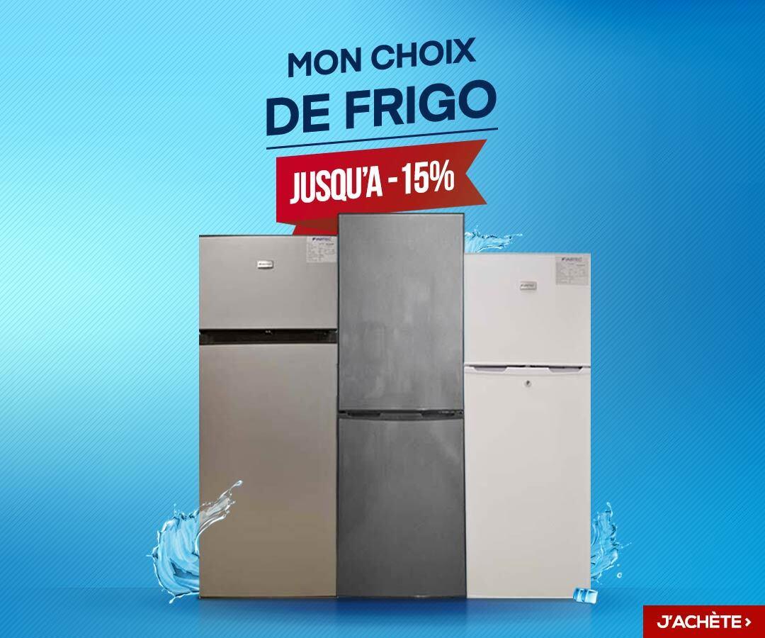 Mon choix de frigo sur glotelho
