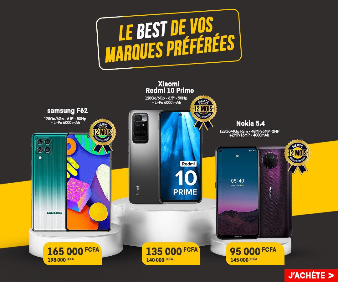 offre smartphones